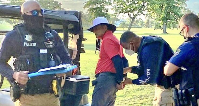 Golfer Arrested For Killing Dog During Round