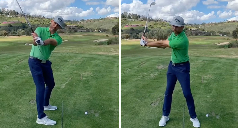 An Easy Drill To Improve Your Golf Swing