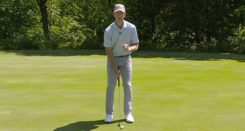 Stop Thinking So Much Over Your Putts