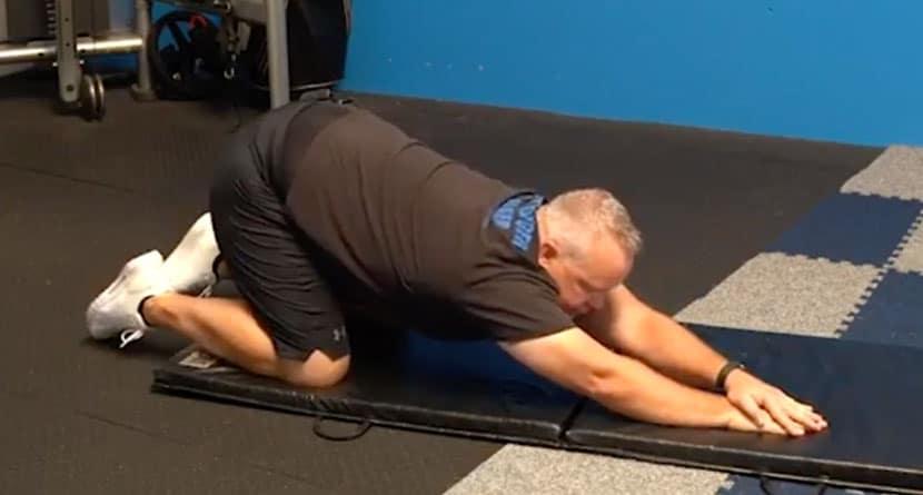Stretch To Get A Bigger Shoulder Turn