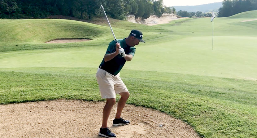 How Tour Players Play Buried Bunker Shots