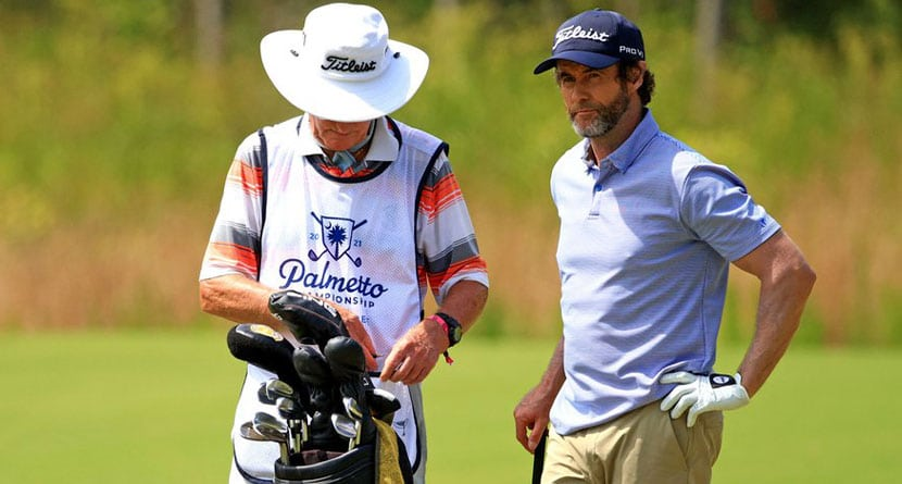 Pro Hit With Unusual 10-Shot Penalty At Palmetto Championship