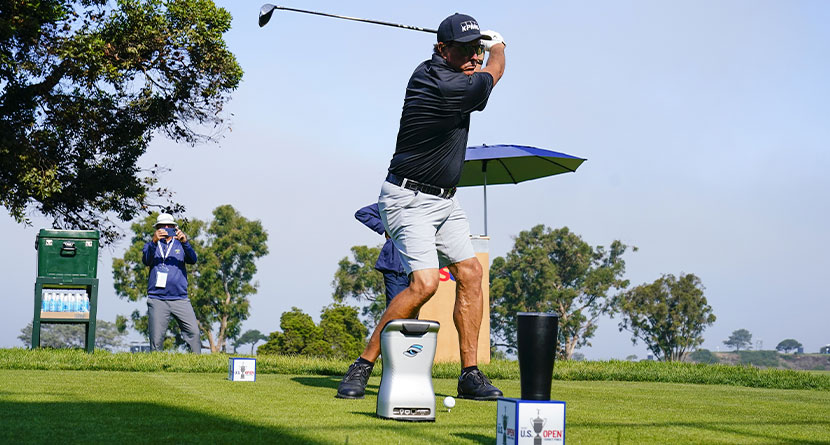 Mickelson Carrying Two Drivers At U.S. Open