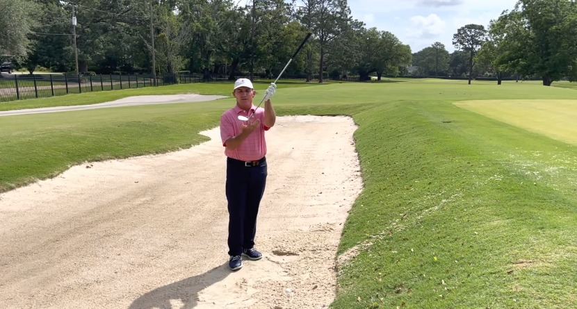 How To Hit The Plugged Bunker Shot