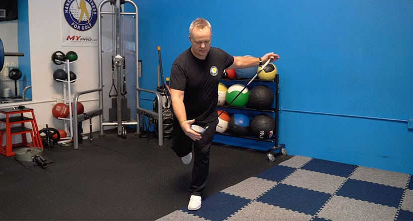 A Simple Balance Exercise For A Better Swing
