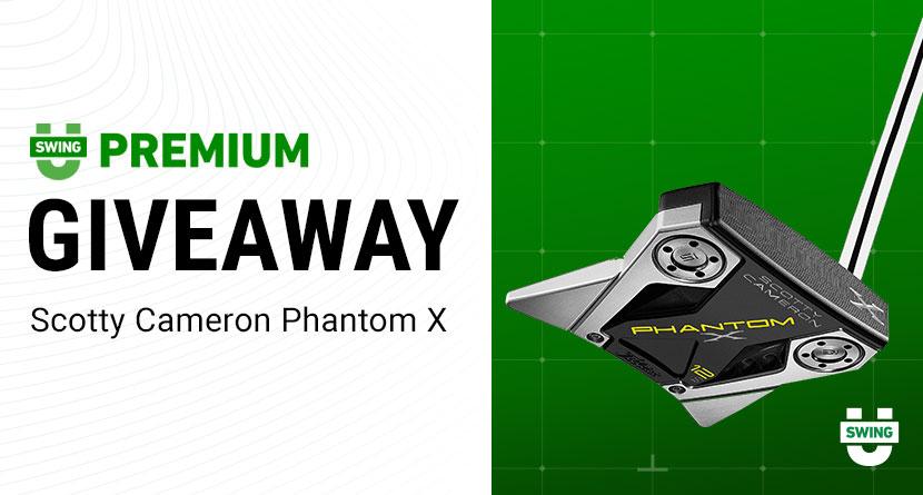 Premium Giveaway: Scotty Cameron Phantom X Putter