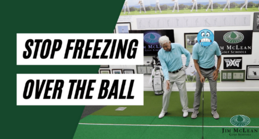 Learn How To Stop Freezing Over The Ball Before You Swing
