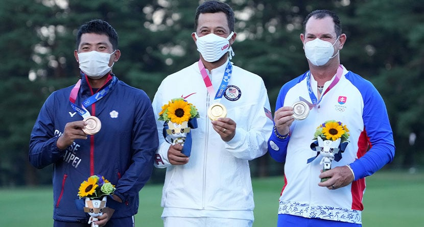 Pan's Bronze Medal Paid 5x What Schauffele's Gold Did