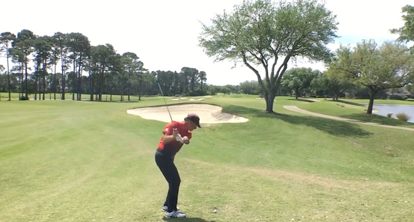 Learn How To Curve The Ball Around Trees