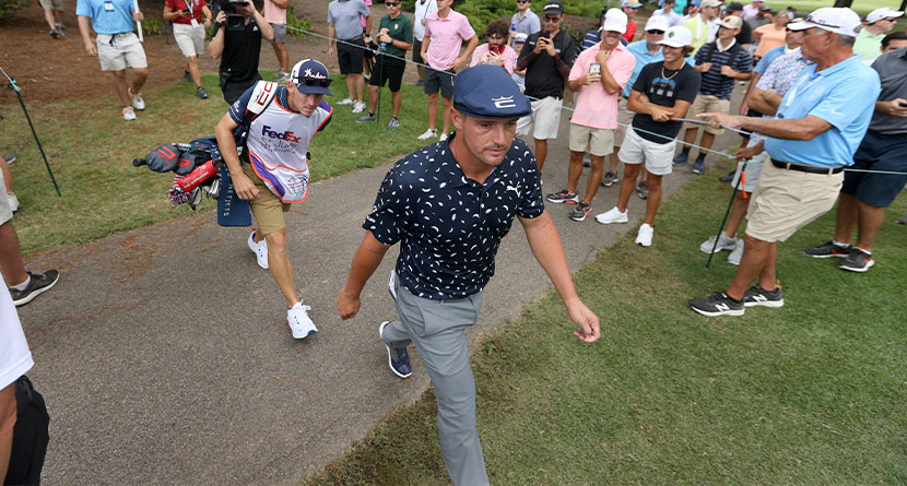 DeChambeau Snaps At Fan After Losing Playoff