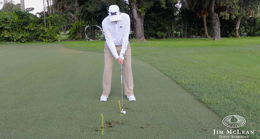 A Miracle Drill For Golfers Who Hit Shots Fat