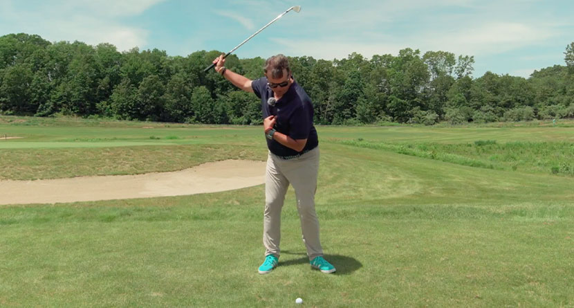"""A """"Get-Right"""" Drill For Struggling Golfers"""