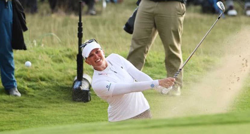 Women's Open Co-Leader Implodes On Carnoustie's Infamous 18th Hole