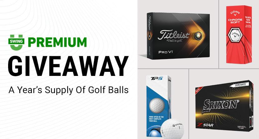 SwingU Giveaway: A Year's Supply Of Premium Golf Balls