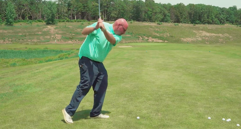 A Common Mistake Made In The Backswing