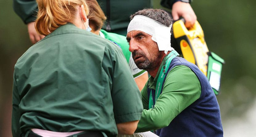 54-Hole Leader Hits Swing Coach In Head With Errant Approach
