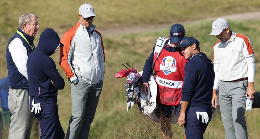 Koepka Calls Out Rules Officials For Lack Of Free Relief