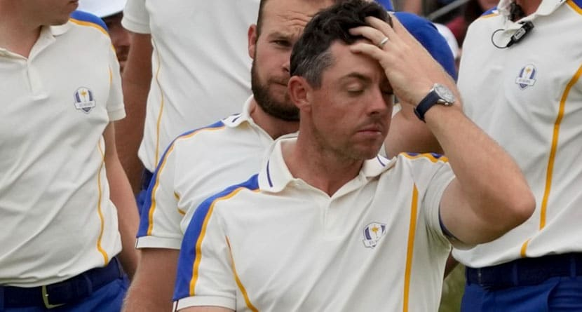 Emotional McIlroy Shows The Passion The Ryder Cup Brings