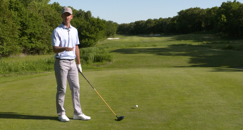 Tee It Low For Straighter Drives
