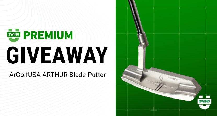 Premium Giveaway: ArGolf ARTHUR Blade Putter