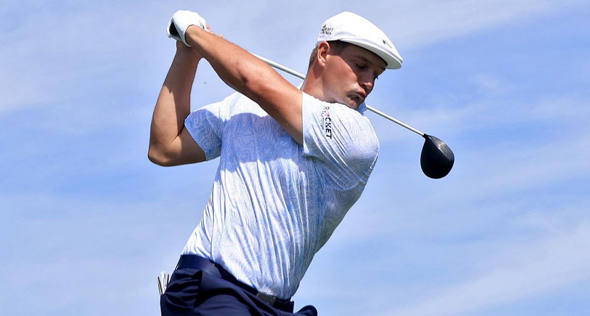 DeChambeau Continues To Rehab Image With 7th-Place Finish At Pro Long Drive Event