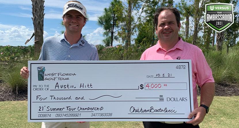 SwingU Versus Ambassador Austin Hitt Wins West Florida Tour Summer Tour Championship