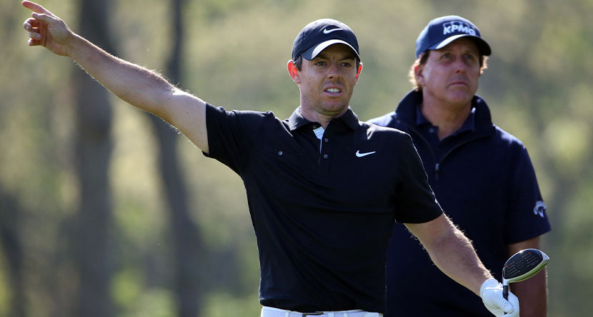 Rory Disputes Phil's Claim PGA Tour Didn't Consult Players